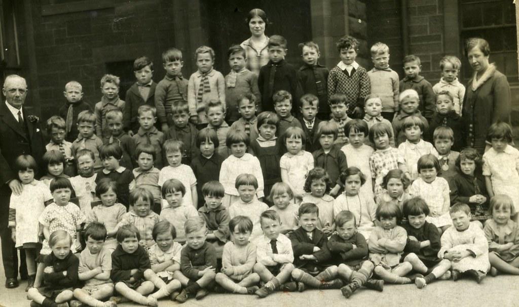 School Photograph 1940s