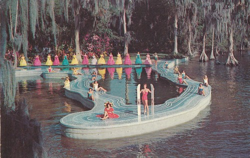 The Esther Williams Swimming pool
