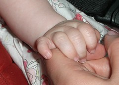Love and Trust.!!!!! (Mumsie Wood) Tags: sleeping holding hands child arm skin fingers mother nails together tiny macroeaster lunchchurch
