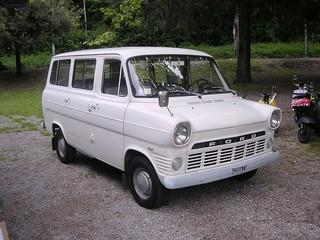 Ford Transit 1000 Kombi 1970 Mk 1 V4 petrol 1500cc Sistiana Mare 8