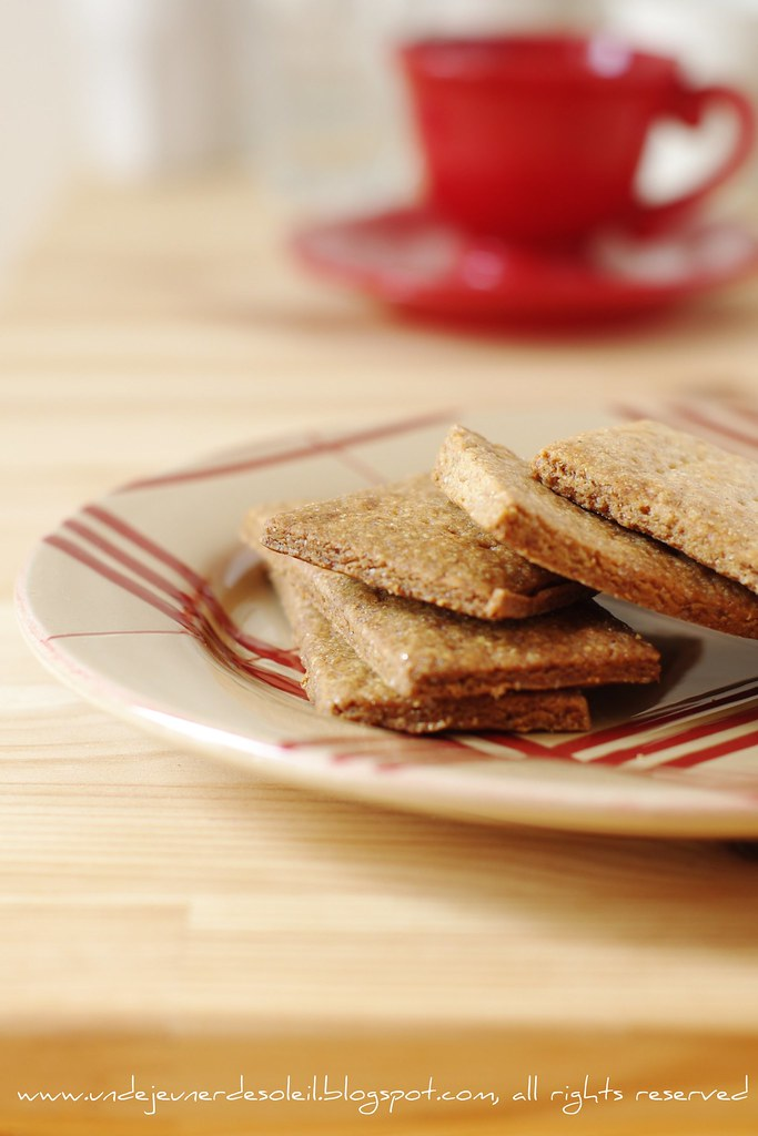 Graham crackers with quinoa