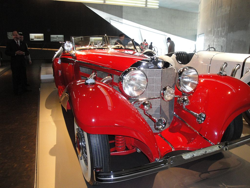 Mercedes Benz 500K Spezial Roadster