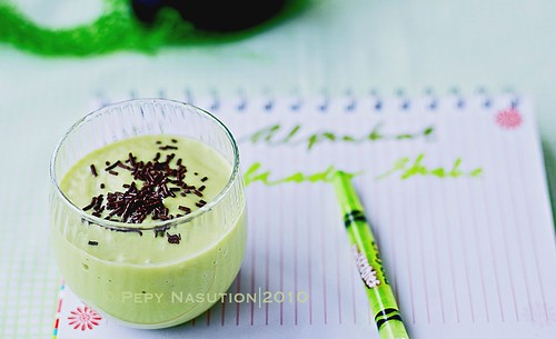 Jus Alpukat - Indonesian Avocado Shake (Edited)