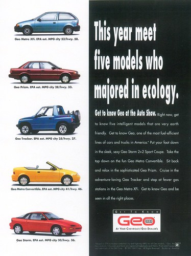 1992 Geo Storm Hatchback. CHEVROLET GEO STORM