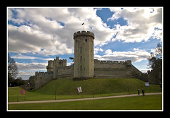 Warwick Castle (Joseph Molinari) Tags: greatbritain travel england castle heritage tourism geotagged nikon unitedkingdom tourist medieval fortification warwick warwickshire williamtheconqueror warwickcastle riveravon scheduledancientmonument d90 earlofwarwick sirfulkegreville mygearandme geo:lat=52279711 geo:lon=1583951