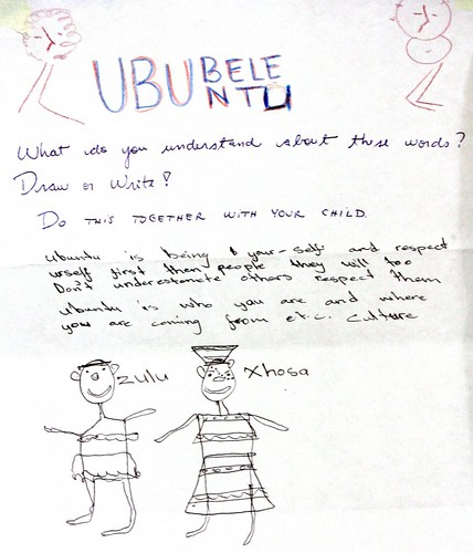 Ububele Ubuntu drawing