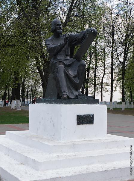 Памятник Андрею Рублеву. Владимир