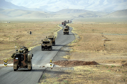 Joint Resupply Mission in Southern Afghanistan
