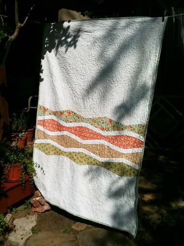 Wave quilt