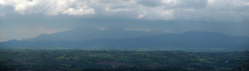 Mourne mountains from Cavehill