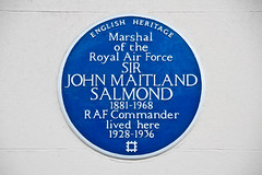 Photo of John Maitland Salmond blue plaque