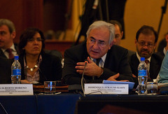 IMF Managing Director in Lima, Peru