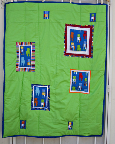 Mr. Roboto Quilt