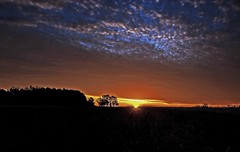 The Truth Will Always Be (T i s d a l e) Tags: november autumn fall field sunrise dawn iso100 nikon farm 1200 f8 sunup 18mm highfield tisdale d40x thepowerofnow thetruthwillalwaysbe