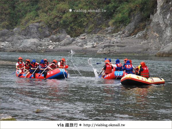 【花蓮旅遊】暑假玩花蓮最消暑的玩法~秀姑巒溪泛舟啦!12