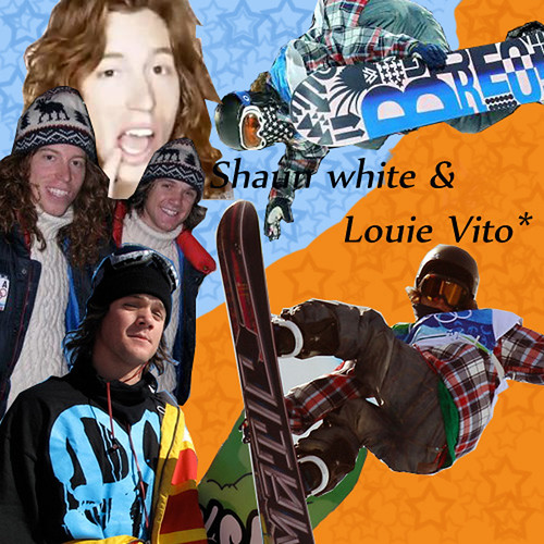louie vito and shaun white. Shaun White amp; Louie Vito