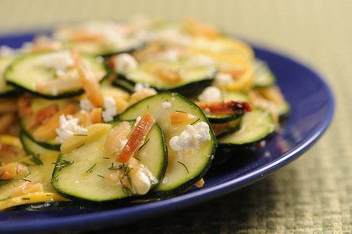 Zucchini Crudo Salad Inspired by Iron Chef Michael Symon