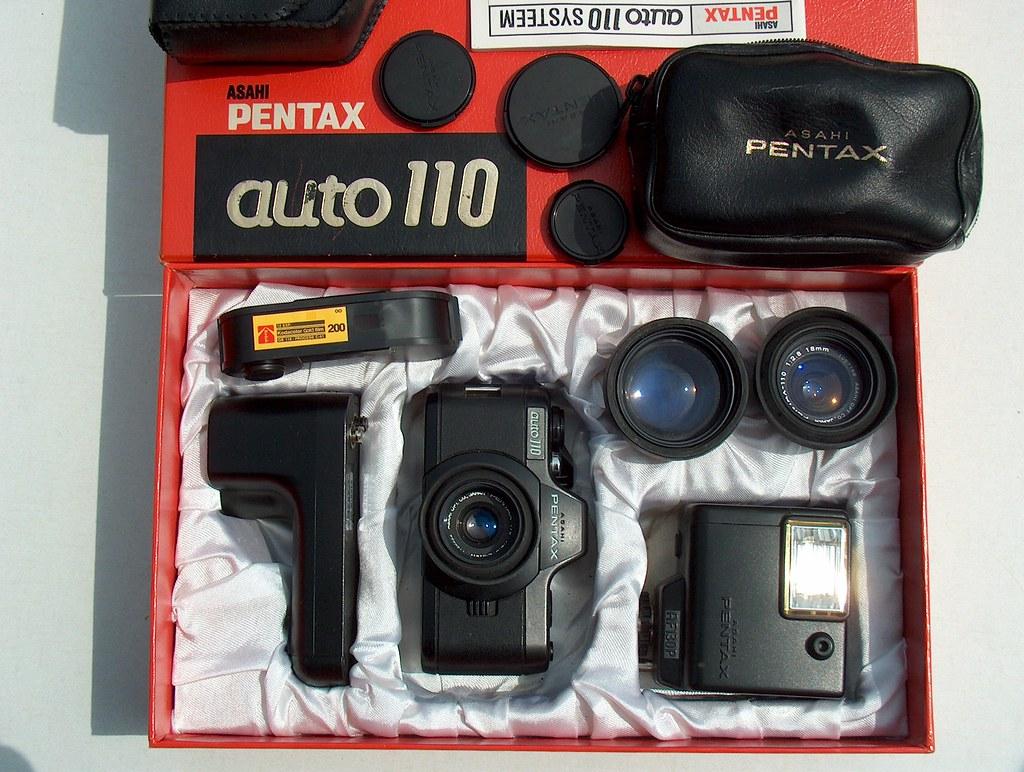 ASAHI PENTAX auto 110 camera-system
