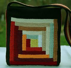 donna's soumak bag back