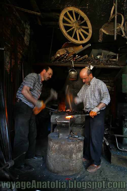 Blacksmiths by voyageAnatolia.blogspot.com