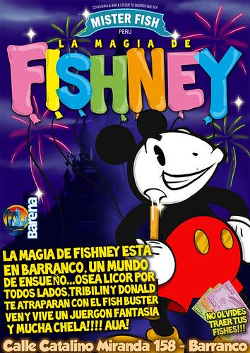 Fishney - Mister Fish Barranco