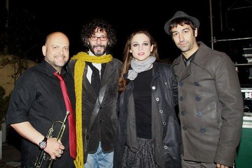Marlango y Fito paez en el en Festival Ciudad Emergente CCR