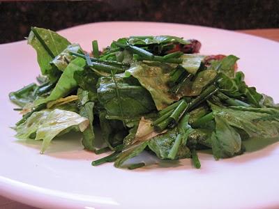 Stirring the Pot: Chive Salad