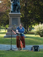 P5310141 (KJSpencer) Tags: poetry raw albany wilcox whitman poets washingtonpark