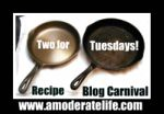 Two for Tuesday Recipe Blog Hop