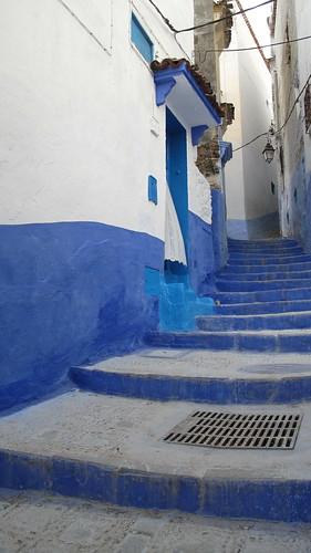 Blue Medina, stairs