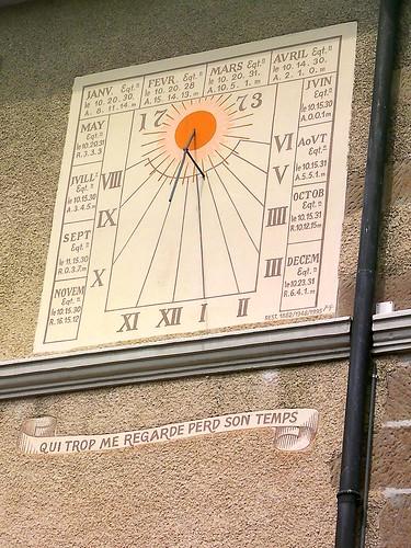 Sundial, Nyon