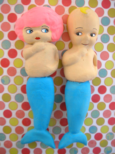 The Mermaids:Mer-Charlotte, Mer-Kewpie 2