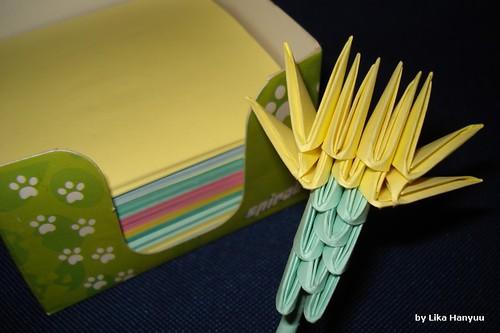 Cravo -Carnation Origami