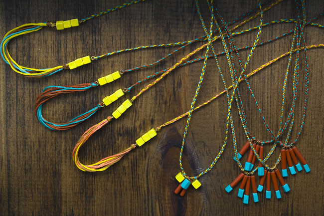 indian summer necklaces