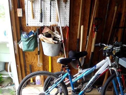room for bikes