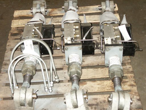 Hydraulic Snubbers for a Construction Site