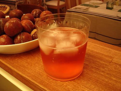 ガラリ果実酒ソーダ割り