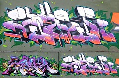 "Zen2-Zeus40  at ""Overline jam"" Baronissi 2010' (Zeus40 and Wildboys) Tags: italy pencil writing graffiti cta naples jam opium rota wildboys zen2 overline zeus40 baronissi"