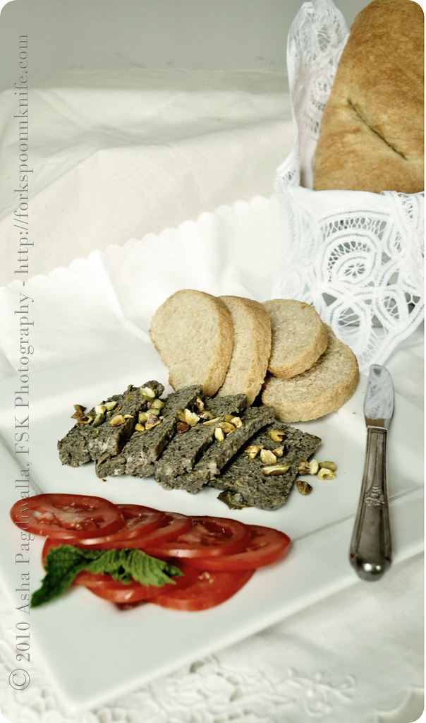 Chicken & Mushroom Terrine with Italian Bread