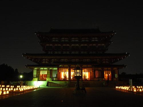 薬師寺(ひかりの天空夢)@西ノ京-14