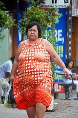 jalan chubby scenes sidewalks obesity obese pinggir gend ...