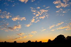On a good day..... (JayBeee2) Tags: blue trees sunset sky clouds nikon view d90 jayneburfordphotography