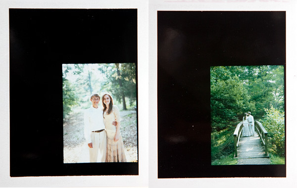Image of Zach & Maryann:  Polaroids