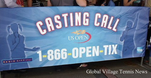 2010 US Open Casting Call at Radio City Music Hall - GVTNews.com