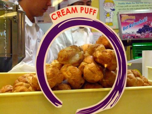Cream Puffs - Papa Beard, MidValley Kuala Lumpur