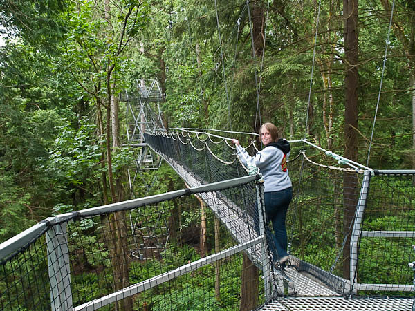 Hike in Canopy of Trees at UBC Botanical Gardens in Vancouver & A Walk in the Canopy