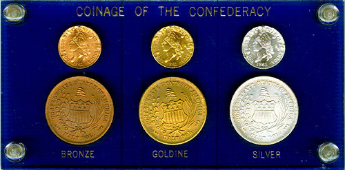 1962 Bashlow Confederate Coin set obverse