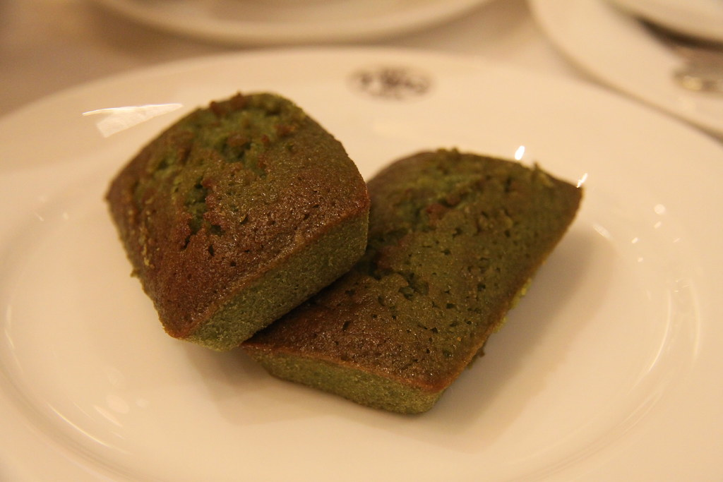 Green Tea Financier