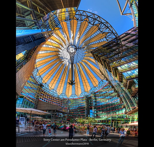 Sony Center am Potsdamer Platz - Berlin, Germany (Vertorama, HDR)