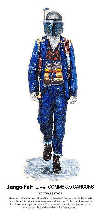 Star Wars : He Wears It (par John Woo)